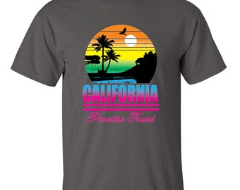 Special Fashion California Paradise Found Men's T-shirt On Sale