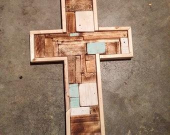 Rustic Cross Wall Decor