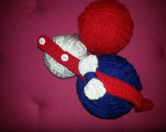 Red White and Blue Baby Headband
