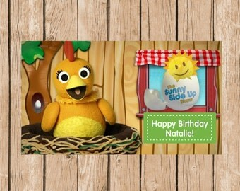 The Chica Show Birthday Vinyl Banner