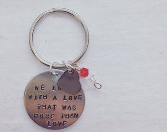 More Than Love Keychain/ Necklace