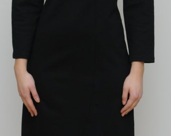 dress with strap detail