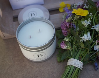 Spring Hedgerows -Large soy wax candle