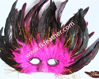 Feather Mask - 11