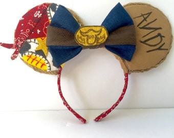 Woody Toy Story inspired Ears