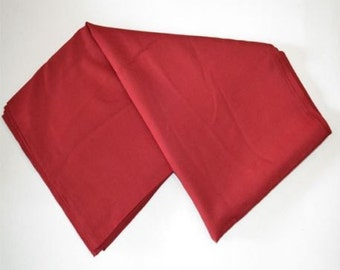 Tibetan Maroon Cotton Meditation Shawl / Tibetan Zen / Monk Shawl / Cotton Zen / Free Shipping