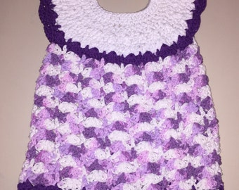 Pansy Purple Dress