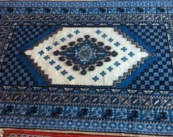 Oriental vintage wool rug