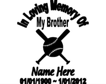 In loving Memory of Brother