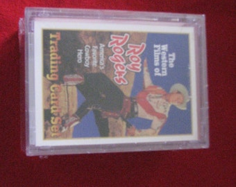 Roy Rogers Trading Card Set