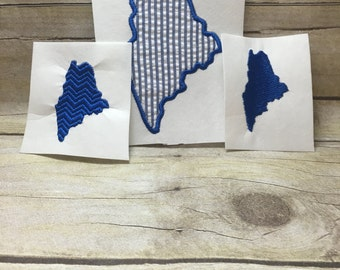 Maine Embroidery Design Package Deal, Maine Package Deal