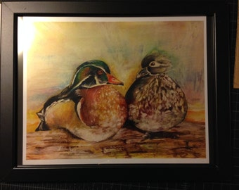 ChromaDucks print in Metallic