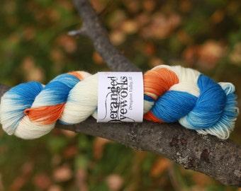 Hockey Socks - Hand Dyed Yarn - SW Merino Wool/Nylon (80/20) Fingering/Sock Weight