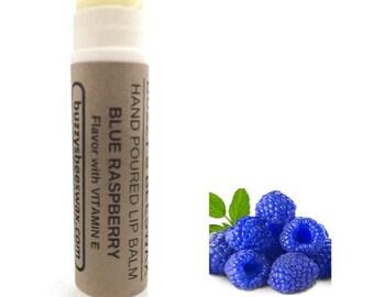 Buzzy's Beeswax Blue Raspberry Lip Balm