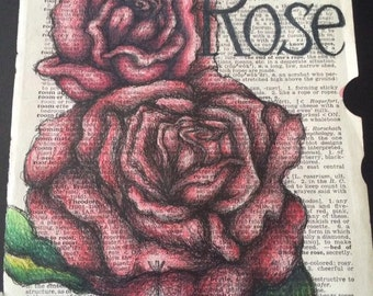 Rose Dictionary page