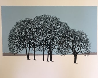 18'' x 11'' Treescape