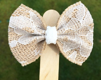 Lace Baby Hair Bow