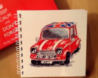 Notebook - Mini Cooper