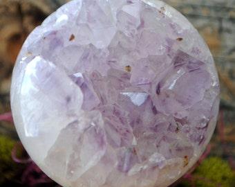 Amethyst Crystal Geode Sphere - 1262.21