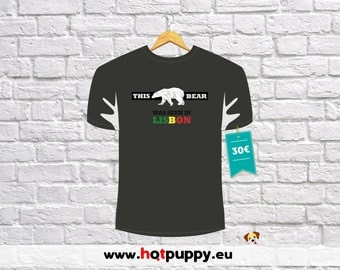 """T-Shirt """"This Bear Was in Lisbon"""""""