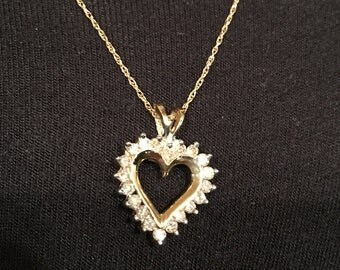 Necklace diamond