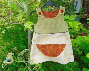 Bronte - Five littles ducks pinafore dress *end of summer sale*