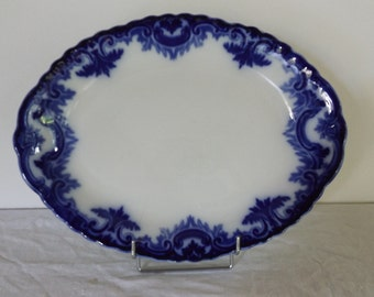 English porcelain oval dish