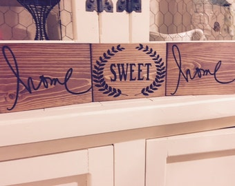 Home Sweet Home 5x7 wood signs