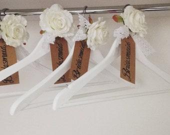 Bridesmaid coat hangers