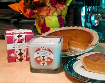Sweet Potato Pie Scented Candle