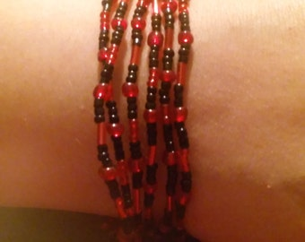 Hippie love beads