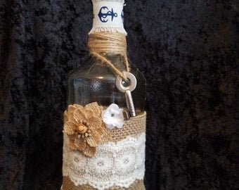 Decorated Corked Bottle