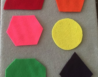 Basic Felt Shapes