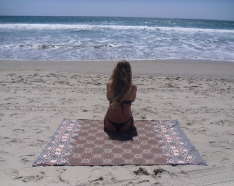 Orange/Mandala Towel sarong