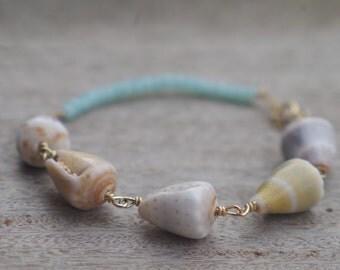 5 Cone Shell Bracelet Lot 1