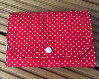 Eco friendly, reusable folding shopping bag, market bag, grocery bag, cotton tote bag, Eco bag
