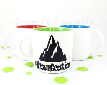 Mountcation/Coffee Mugs/Mountain Life/Coffee Lovers/Tea Lovers/Tea Mugs/Coffee Mugs/Mountain Mugs/Mountain Time/Mountain Tea Mug