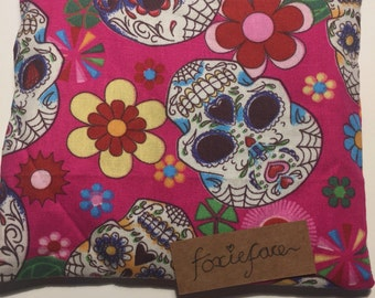 Sugar Skull purse- lined-