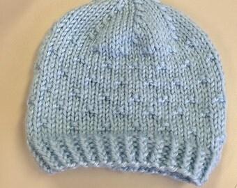 Knitted Baby Hat - Handmade