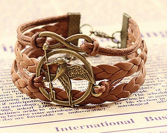 Tribute by panem bracelet