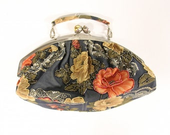 Vintage floral handbag-Purse-Boho Ladies bag