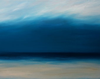 Before the Storm. Original Oil Painting. Free Shipping