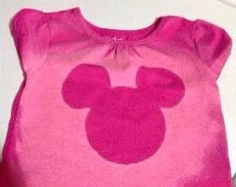Kids's Disney Mickey Head Shirt