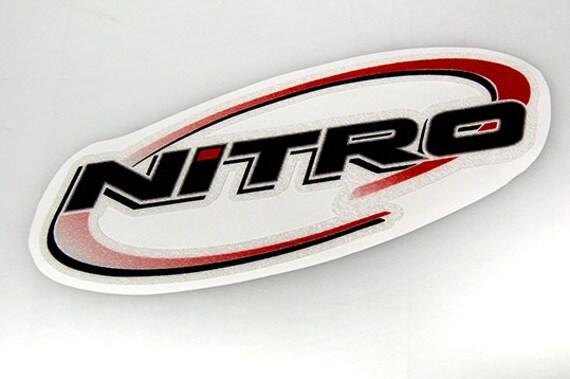 Nitro Boats Bass Boat Carpet Graphic Decal Logo