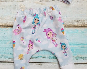 Katy perry inspired candy land california gurls baby harems knotted headband cute 0-3 months, clouds sky icecream sweets