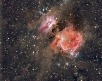 Original Astrophotography Print- Orion Nebula