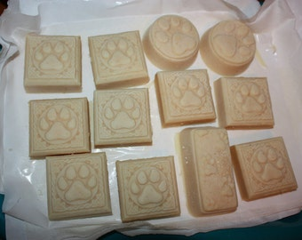 Dog soap bar