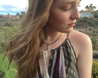 Sedona Necklace - Red Rock Necklace - Sedona Pendant - Sedona Dirt Necklace - Vortex Energy Necklace