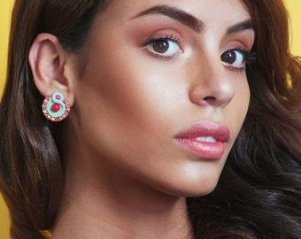 Earrings Soutache Grace S1