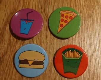 KingPorteous Takeaway Pin Badge Set